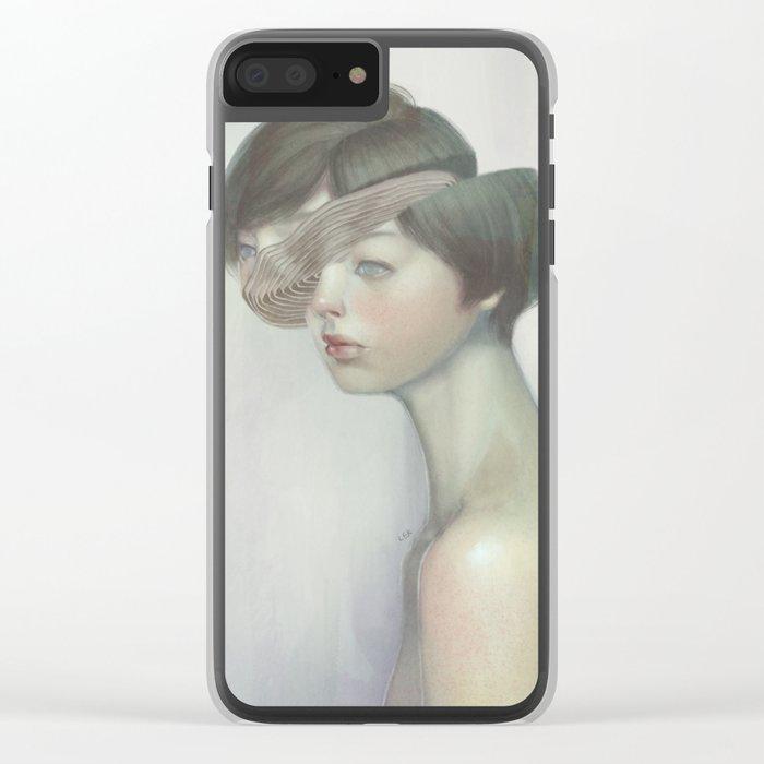 Self 03 Clear iPhone Case