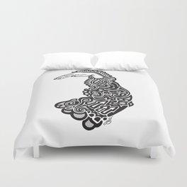 Doodle Sleeve Duvet Cover