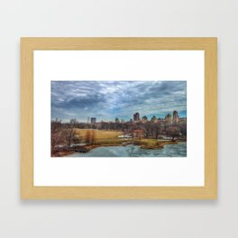 The Great Lawn Framed Art Print