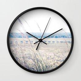 Cape Cod Boardwalk Wall Clock