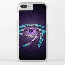 Eye of Horus meets Third Eye Clear iPhone Case