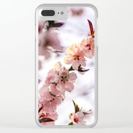 Blossom II Clear iPhone Case