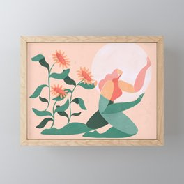 Sunflowers Framed Mini Art Print