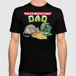 World's Greatest Sensei Dad T-shirt