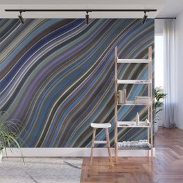 Wild Wavy Lines 40 Wall Mural