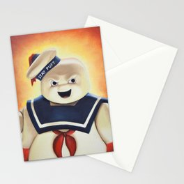 Stay Puft Marshmallow Man Stationery Cards