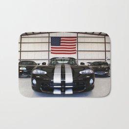 racing stripes Bath Mat