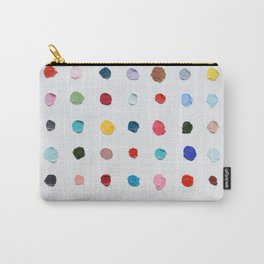 Infinite Polka Daubs Carry-All Pouch