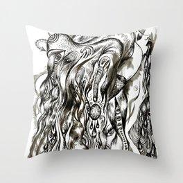 Celestial Shivers Throw Pillow