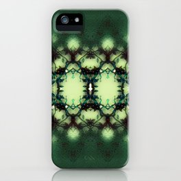 Green Thorns iPhone Case