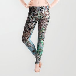 The Seattle Doomsday Map Leggings