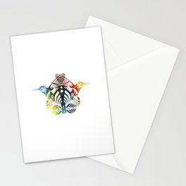 Bassnectar Family Crest (Color) Stationery Cards
