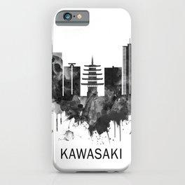 Kawasaki Japan Skyline BW iPhone Case