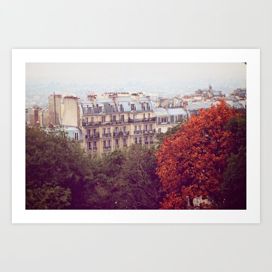 Montmartre, Paris Art Print