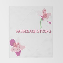 Sassenach Strong Throw Blanket