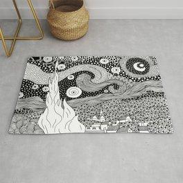 Van Gogh - Starry Night Rug