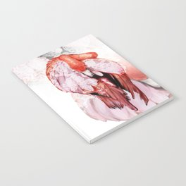 Pink Flamingo Handpaint Notebook