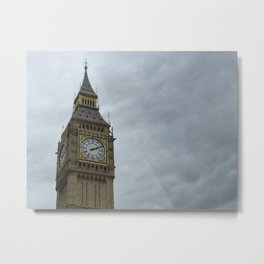 Elizabeth Tower (Big Ben Clock Tower) Metal Print