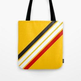 Oldschool Retro Stripes Tote Bag