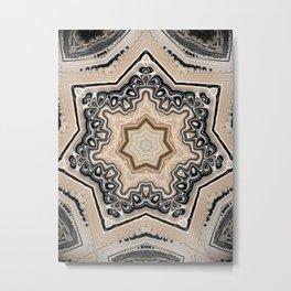 estrella de mercurio Metal Print