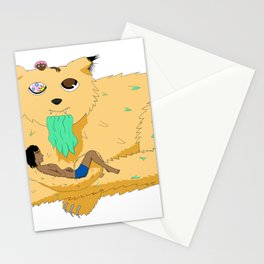 Old Cheeky Cat Stationery Cards