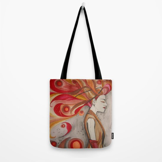 Elemental Couture: Zephyrienne Tote Bag