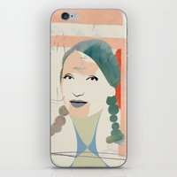 elsa iPhone & iPod Skins featuring Elsa by John Murphy