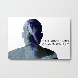 Haunted Mind  Metal Print