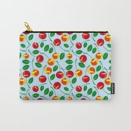 Pattern with sweet cherries Carry-All Pouch