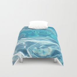 water moving Duvet Cover