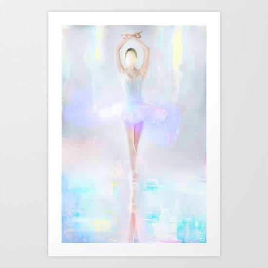 Dance on the water Art Print
