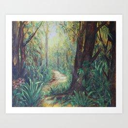 A Story of a Journey Art Print