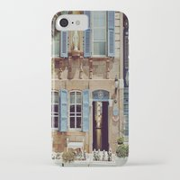 jewish iPhone & iPod Cases featuring Blue Shutters in the Sun by Brown Eyed Lady