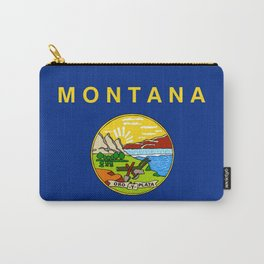flag of montana,america,usa,big sky,treasure state, montanan,west,Billings,missoula,great falls Carry-All Pouch