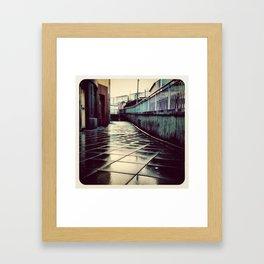 Rainy Day - Instagram Framed Art Print