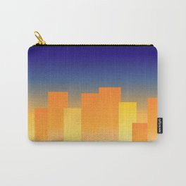 Simple City Sunset Carry-All Pouch