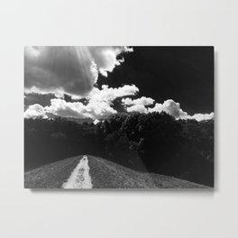 Hickory Path Metal Print