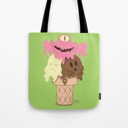 Neapolitan - The Psychopath Icecream Tote Bag