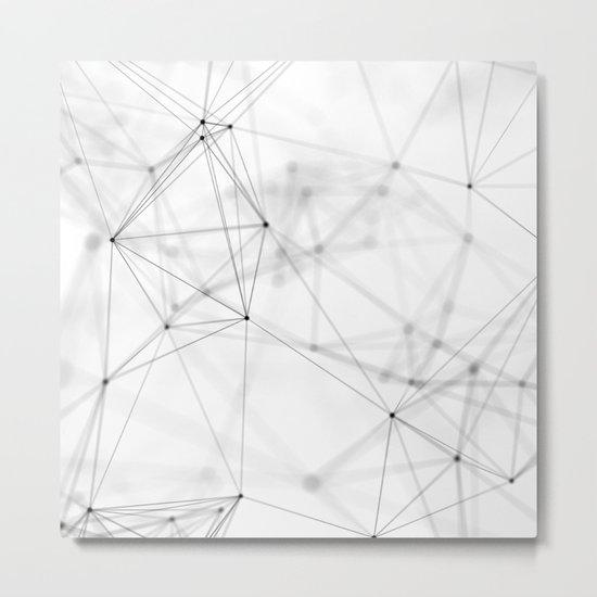 Geometry minimal pattern Metal Print