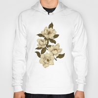 Hoodies featuring Magnolias by Jessica Roux
