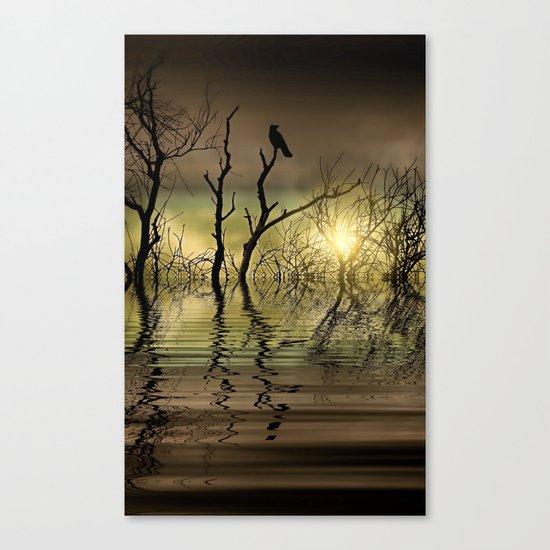 Twilight reflected Canvas Print