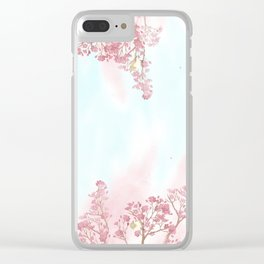 A day for cherry blossom | Miharu Shirahata Clear iPhone Case