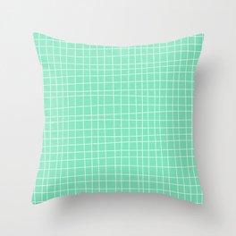 Carnival Glass Stripes No. 3 Throw Pillow