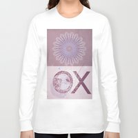 morocco Long Sleeve T-shirts featuring Morocco OX pink by ZenzPhotography