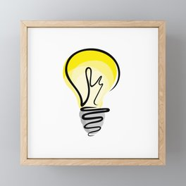 Good Idea Framed Mini Art Print