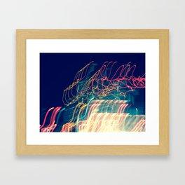 Night Lights II Framed Art Print