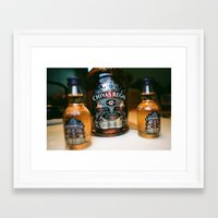 whisky Framed Art Prints featuring whisky by songzhen