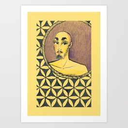 Para Além do Espelho Art Print