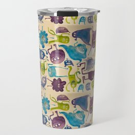 Critter pattern cool Travel Mug