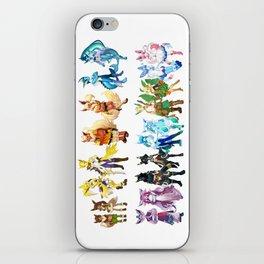 Eeveelutions Concept Art iPhone Skin